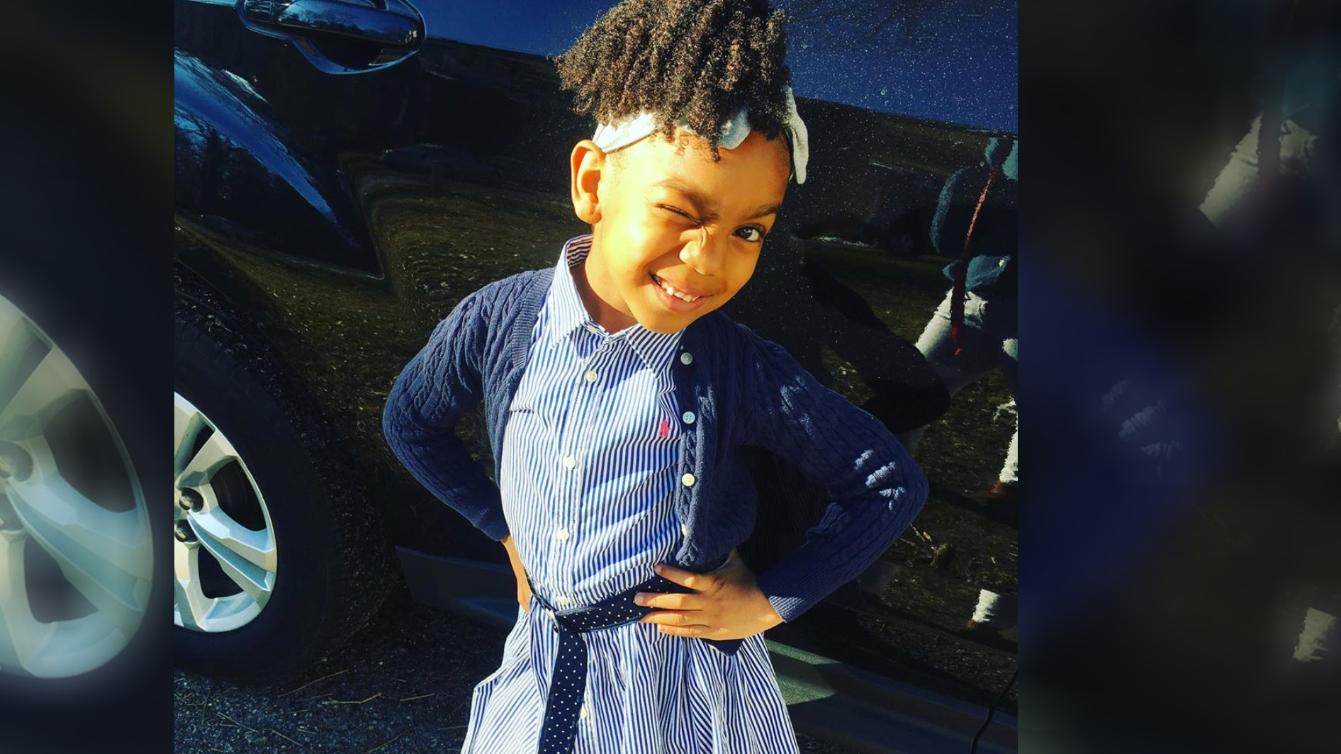 6-year-old Paris Williams delivers food and essentials to homeless, starts own foundation