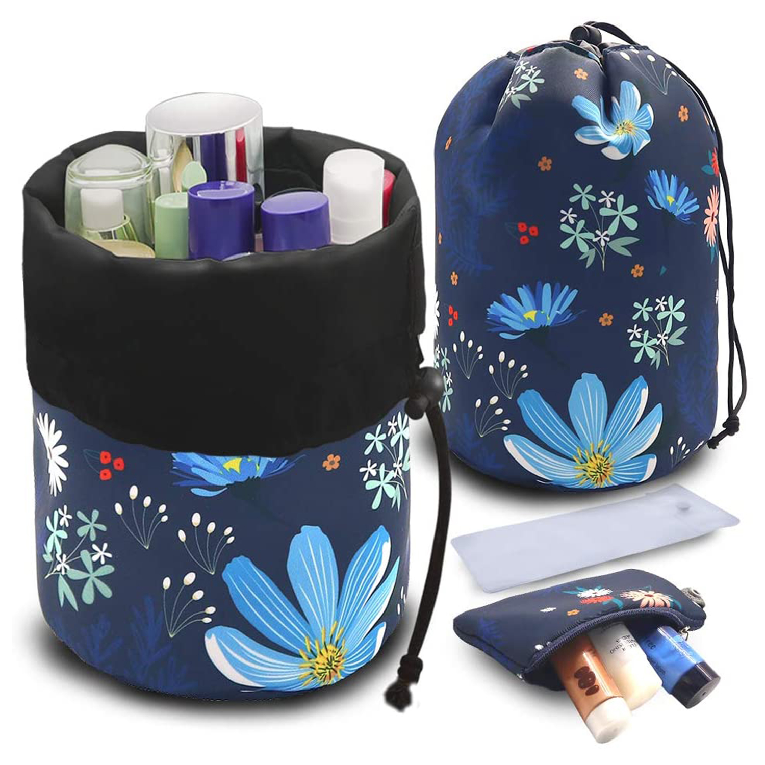 UYRIE Portable Makeup Toiletry Cosmetic Travel Organizer Bag
