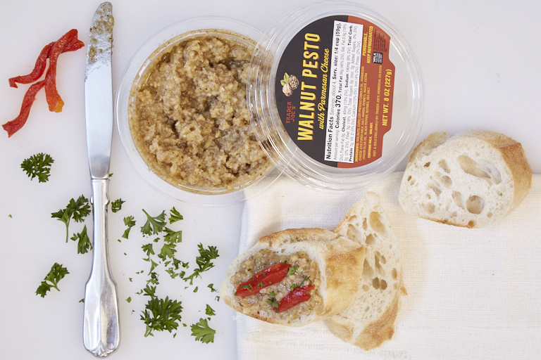 trader joes walnut-pesto