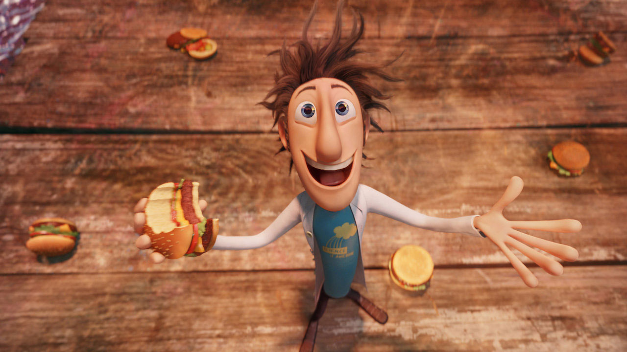 Good, best kids movies on netflix - Cloudy With a Chance of Meatballs