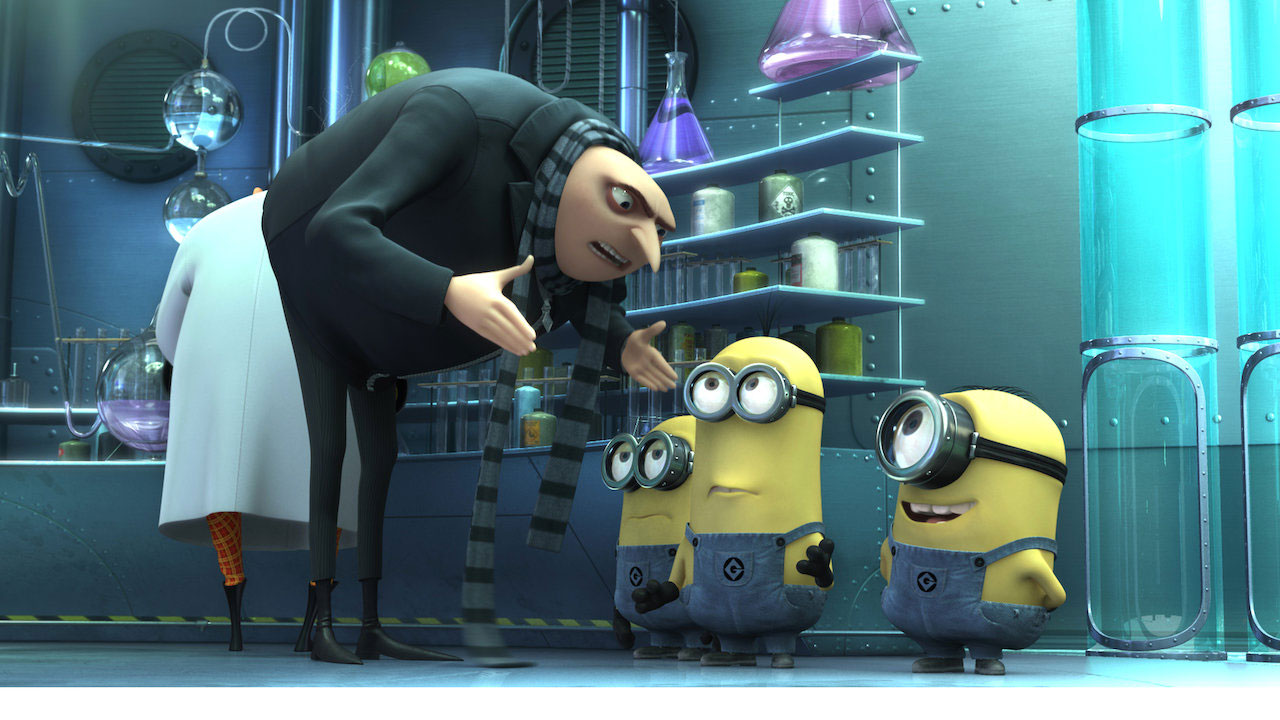 Good, best kids movies on netflix - Despicable Me