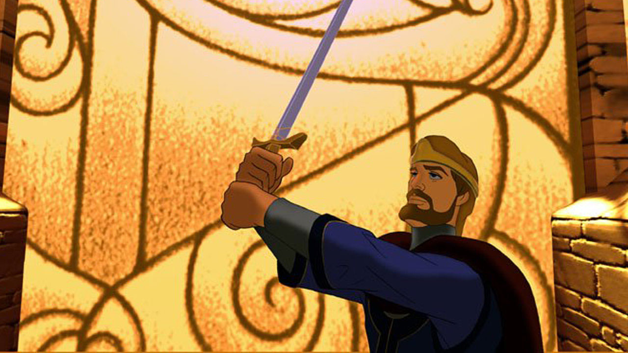 Good, best kids movies on netflix - Quest for Camelot