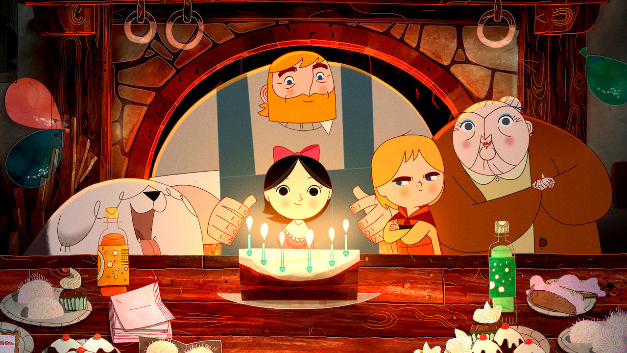 Good, best kids movies on netflix - Song of the Sea