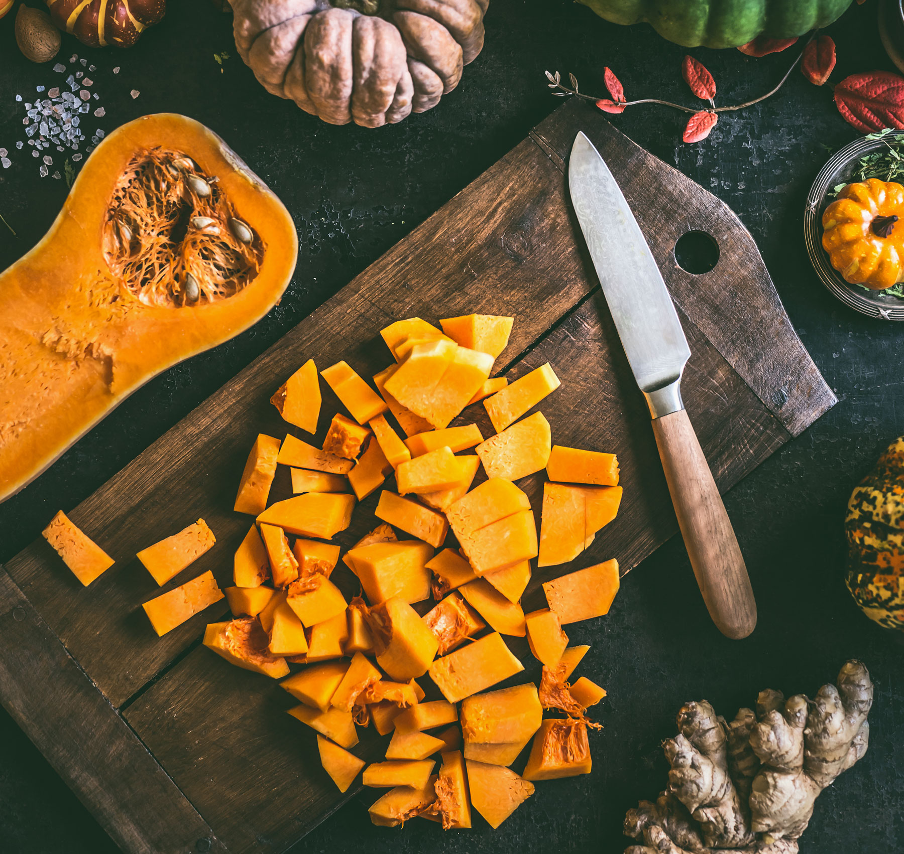 How to cut butternut squash: video, steps, and guide to cutting butternut squash