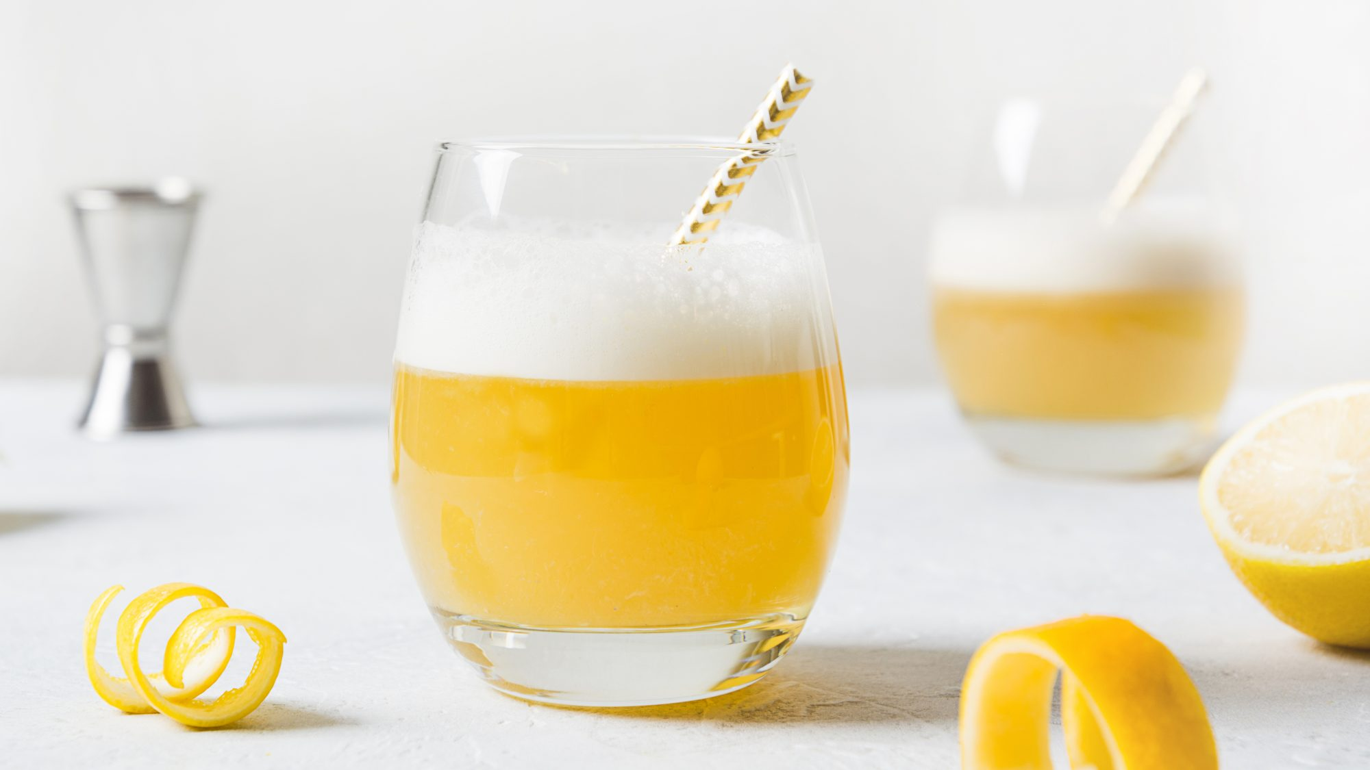 This Whiskey Sour Cocktail Is the Ideal Way to Celebrate the Start of September
