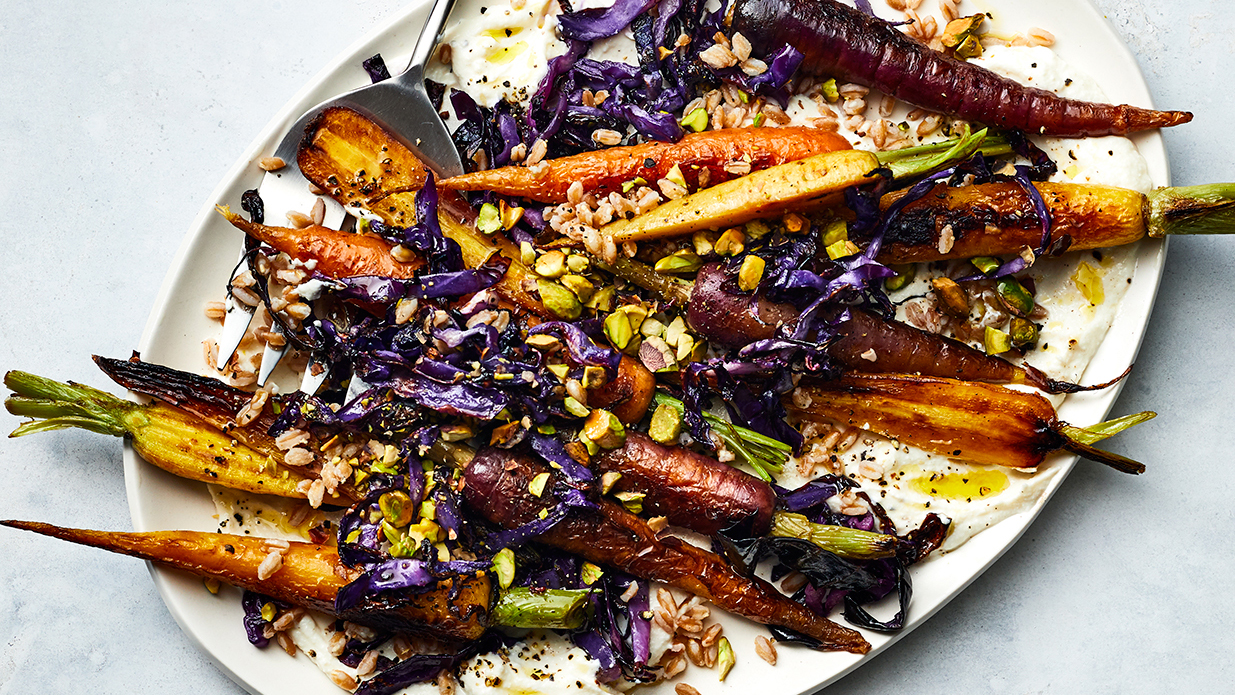 roasted-vegetables-recipe: carrots