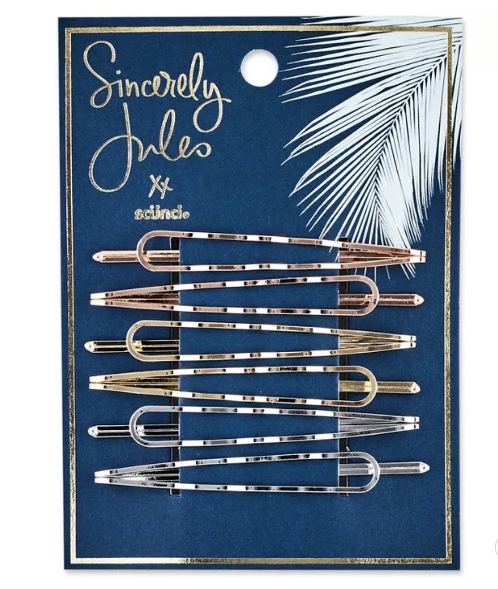 Sincerely Jules by Scünci Wavy Open Bobby Pins