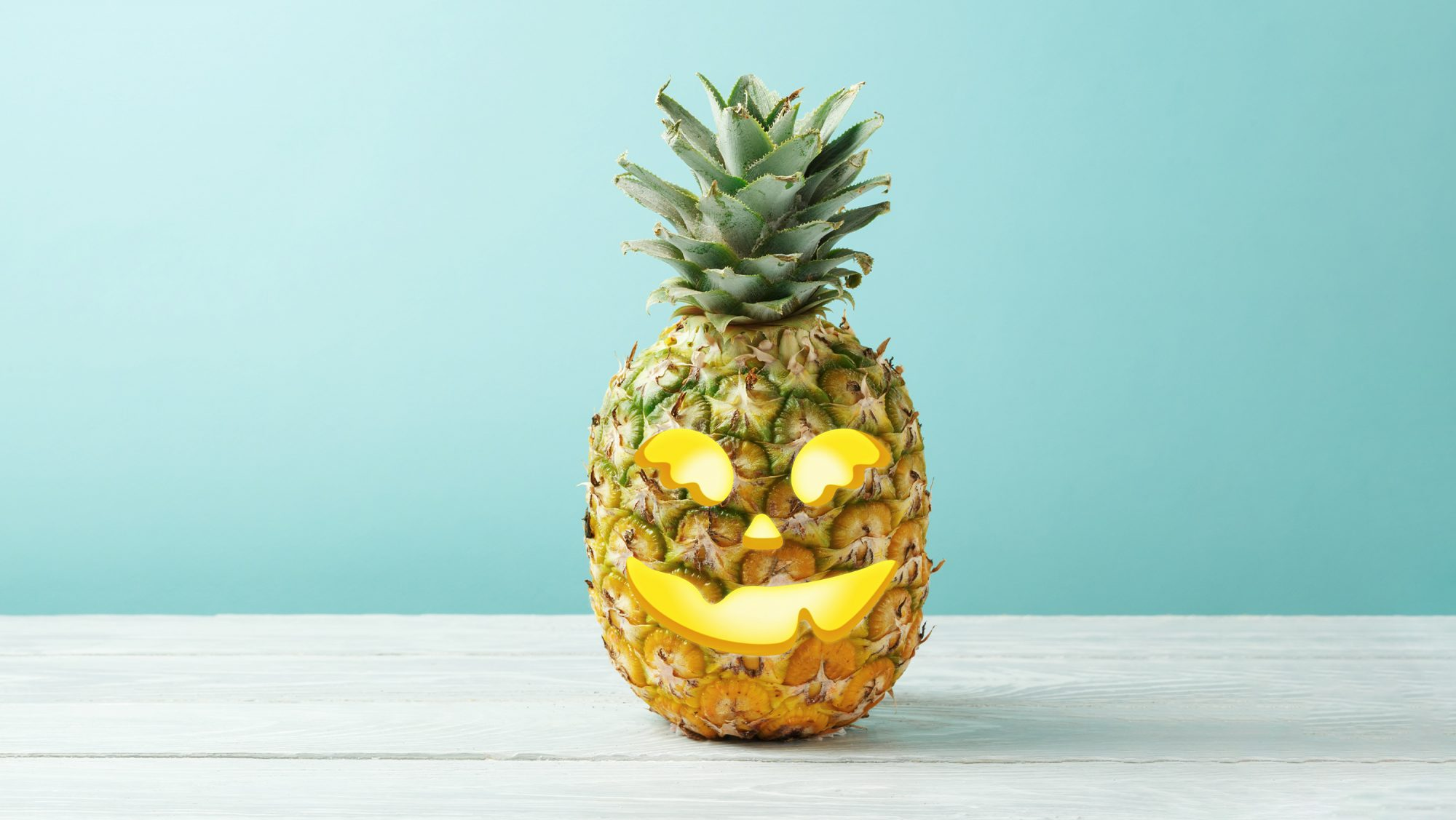 Pineapple carving: how to carve a pineapple jack-o'-lantern
