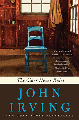 Fall books - The Cider House Rules, by John Irving