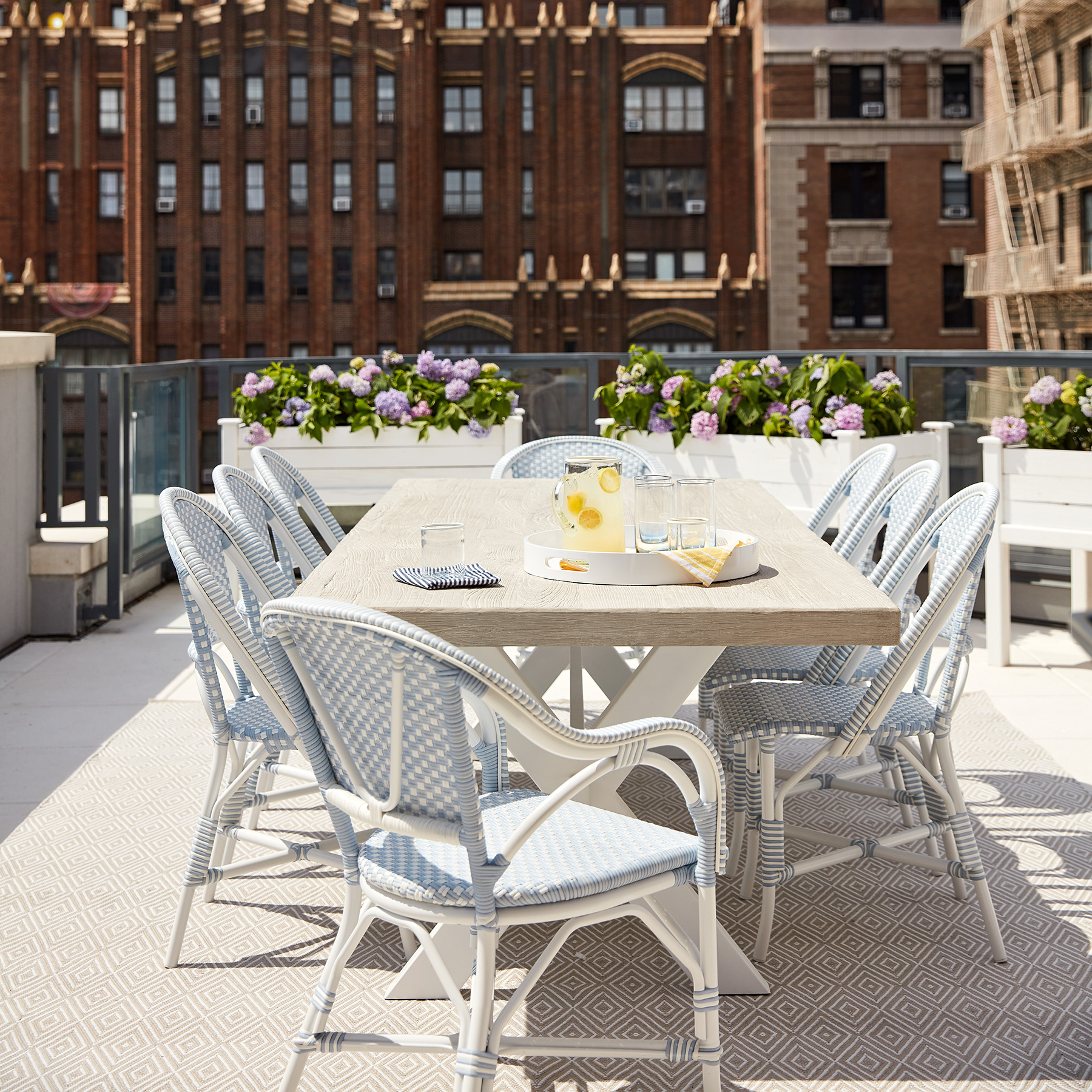 2020 Real Simple Home Tour: Terrace Dining