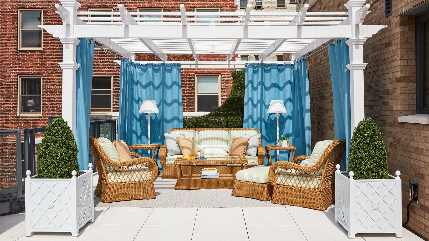 2020 Real Simple Home Tour: Terrace