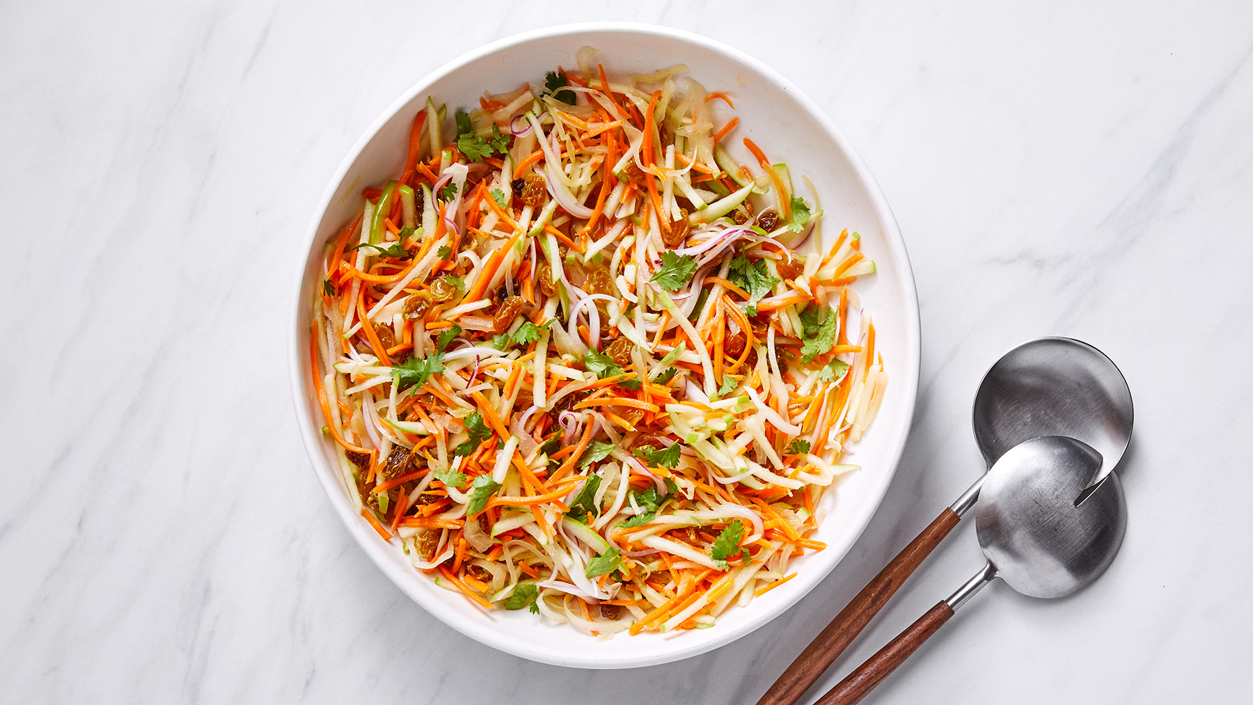 Carrot-Apple Slaw Recipe