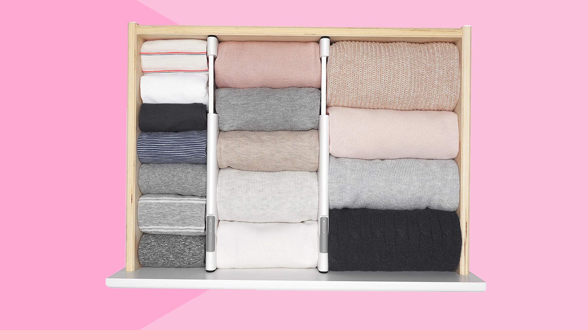 Houseware Closet Underwear Organizer Drawer Divider on Amazon