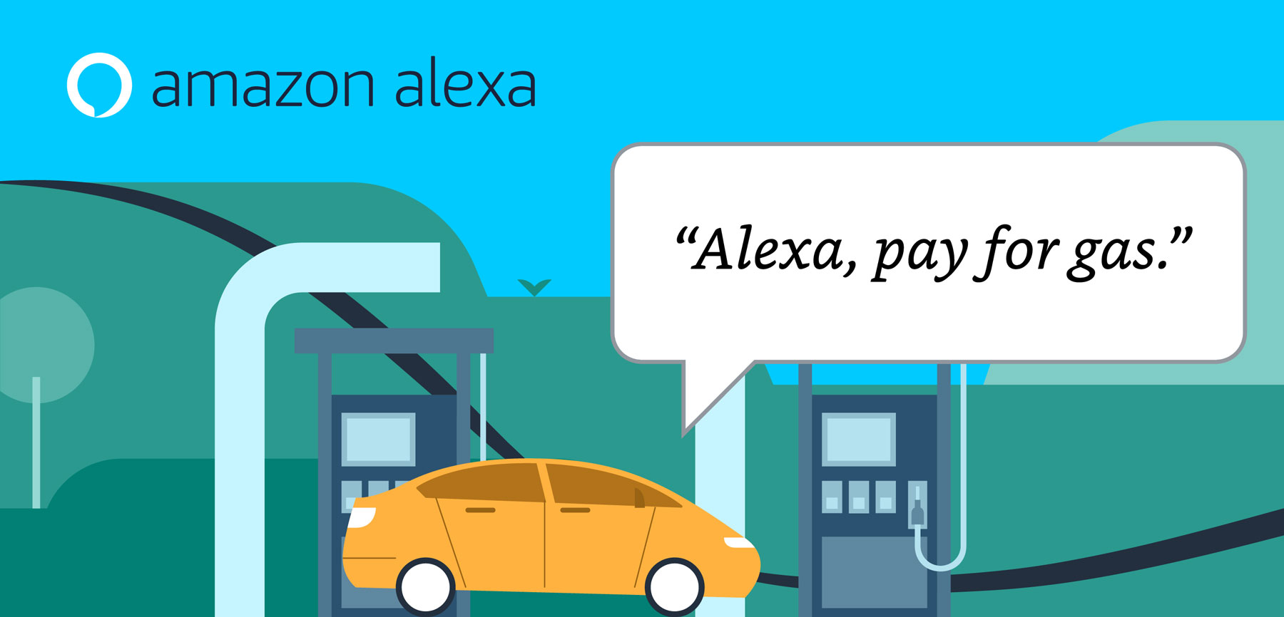 6 Clever Items (10/2/20) - Alexa, Pay for Gas