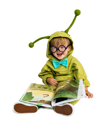 DIY Halloween costumes ideas - Bookworm