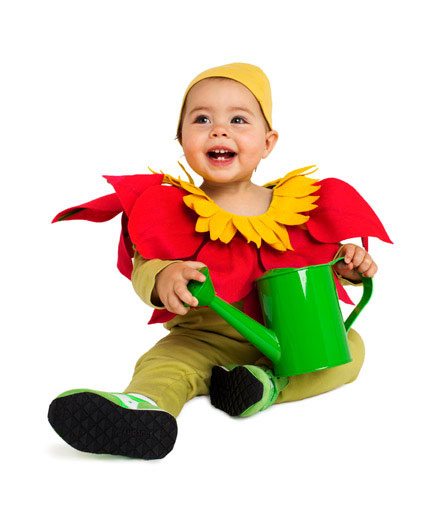 DIY Halloween costumes ideas - Flower costume