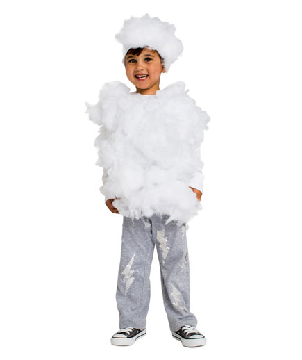 DIY Halloween costumes ideas - Lightning Cloud or Storm costume