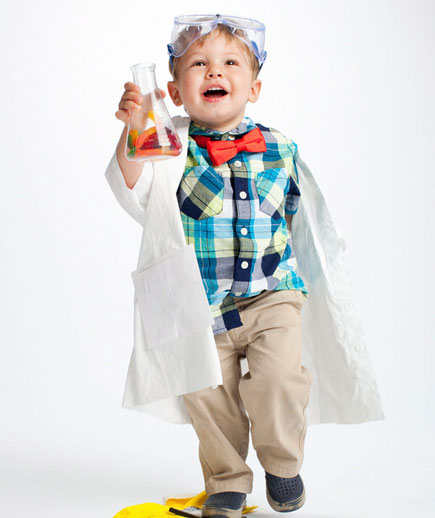 DIY Halloween costumes ideas - Mad Scientist