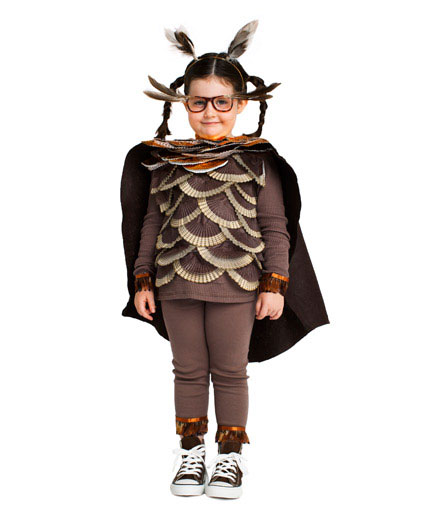 DIY Halloween costumes ideas - Owl