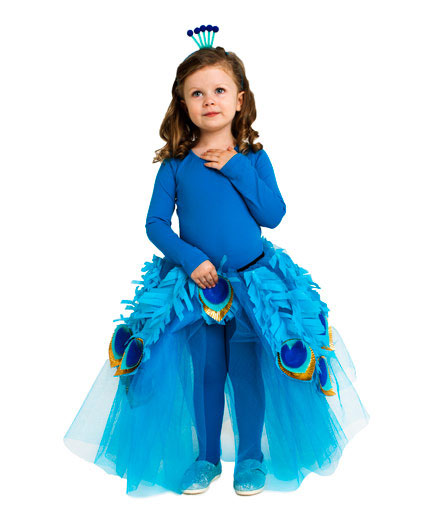 DIY Halloween costumes ideas - Queen peacock costume