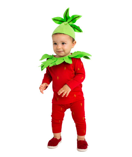 DIY Halloween costumes ideas - Strawberry costume