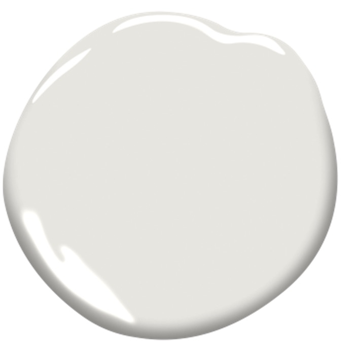 White paint swatch