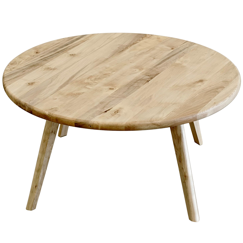 2020 Real Simple Home Office: Round Scandinavian Coffee Table