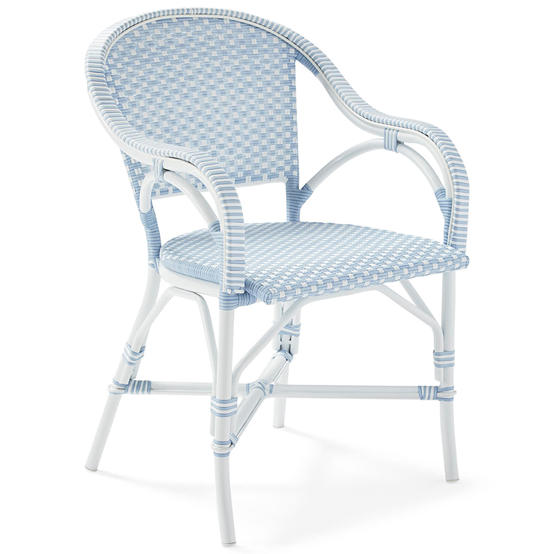 2020 Real Simple Home Terrace: Outdoor Riviera Dining Chair