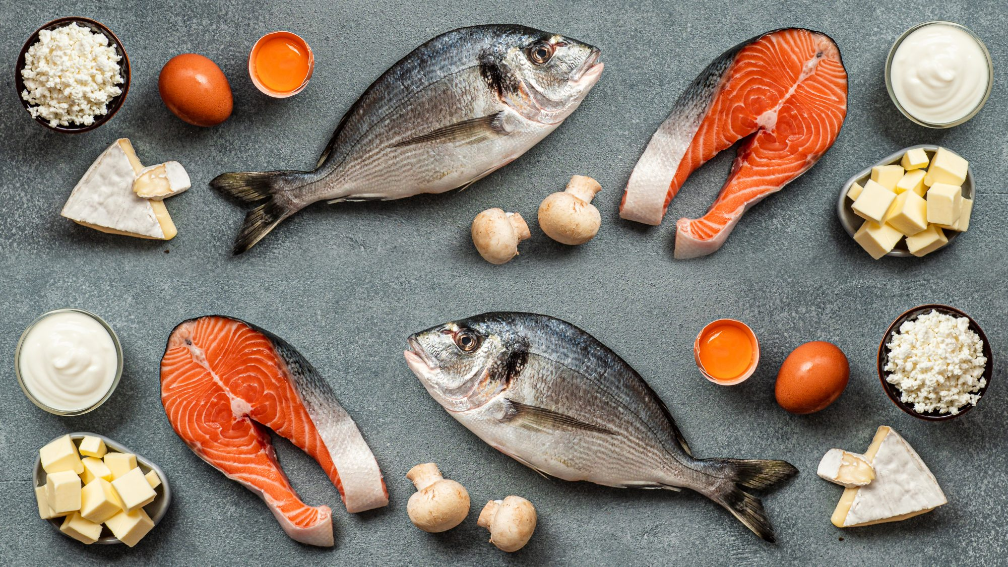 Vitamin-D-Foods: salmon and fatty fish