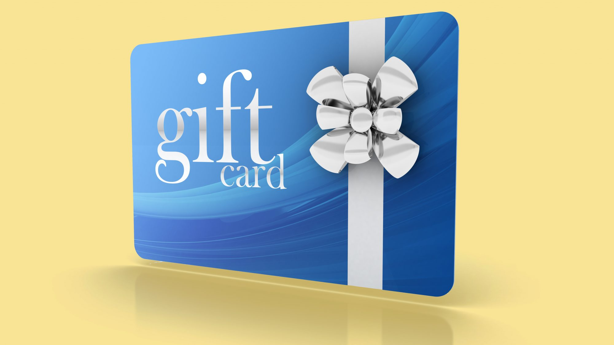 Gift card ideas - list of great gift cards to give and presentation ideas