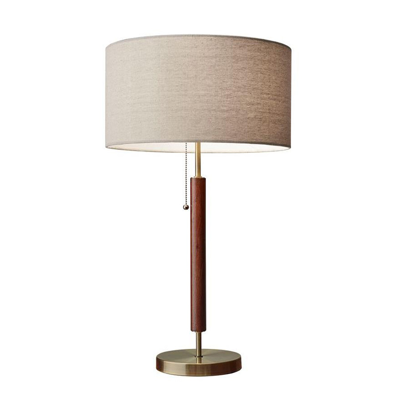 2020 Real Simple Home Living Room: Hamilton Brass Table Lamp