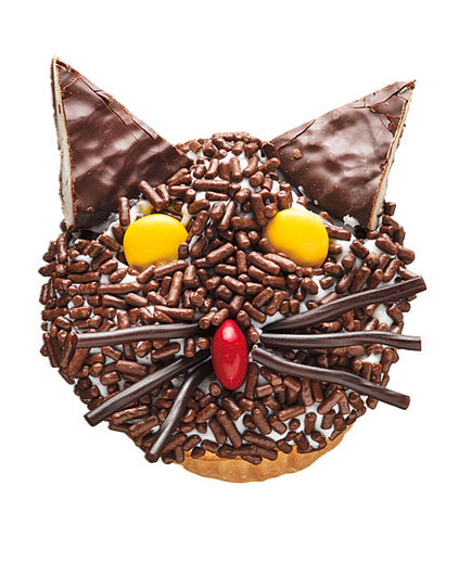 Halloween desserts and Halloween treats - Fraidycat Cupcakes