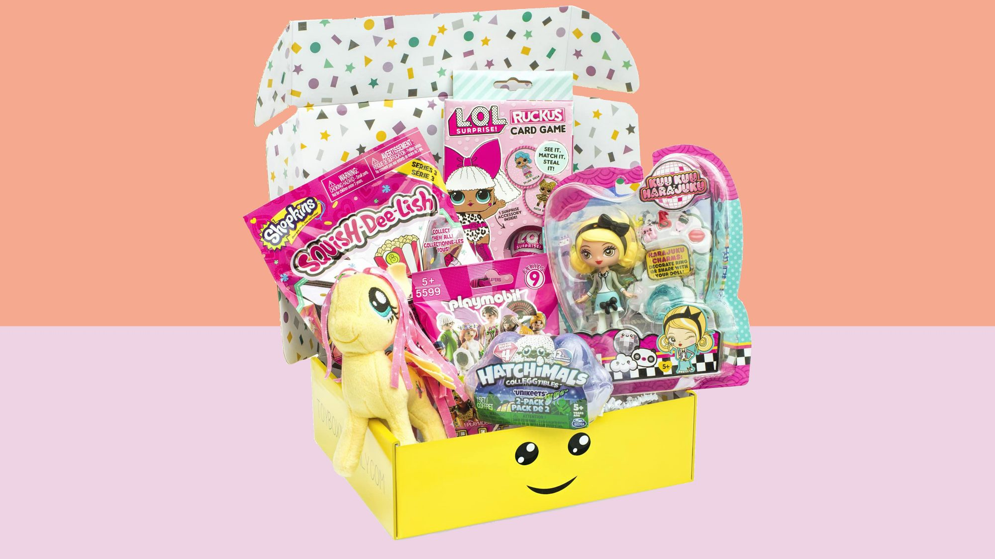 Toy Box Monthly - Kids Toy Subscription Box: Girls