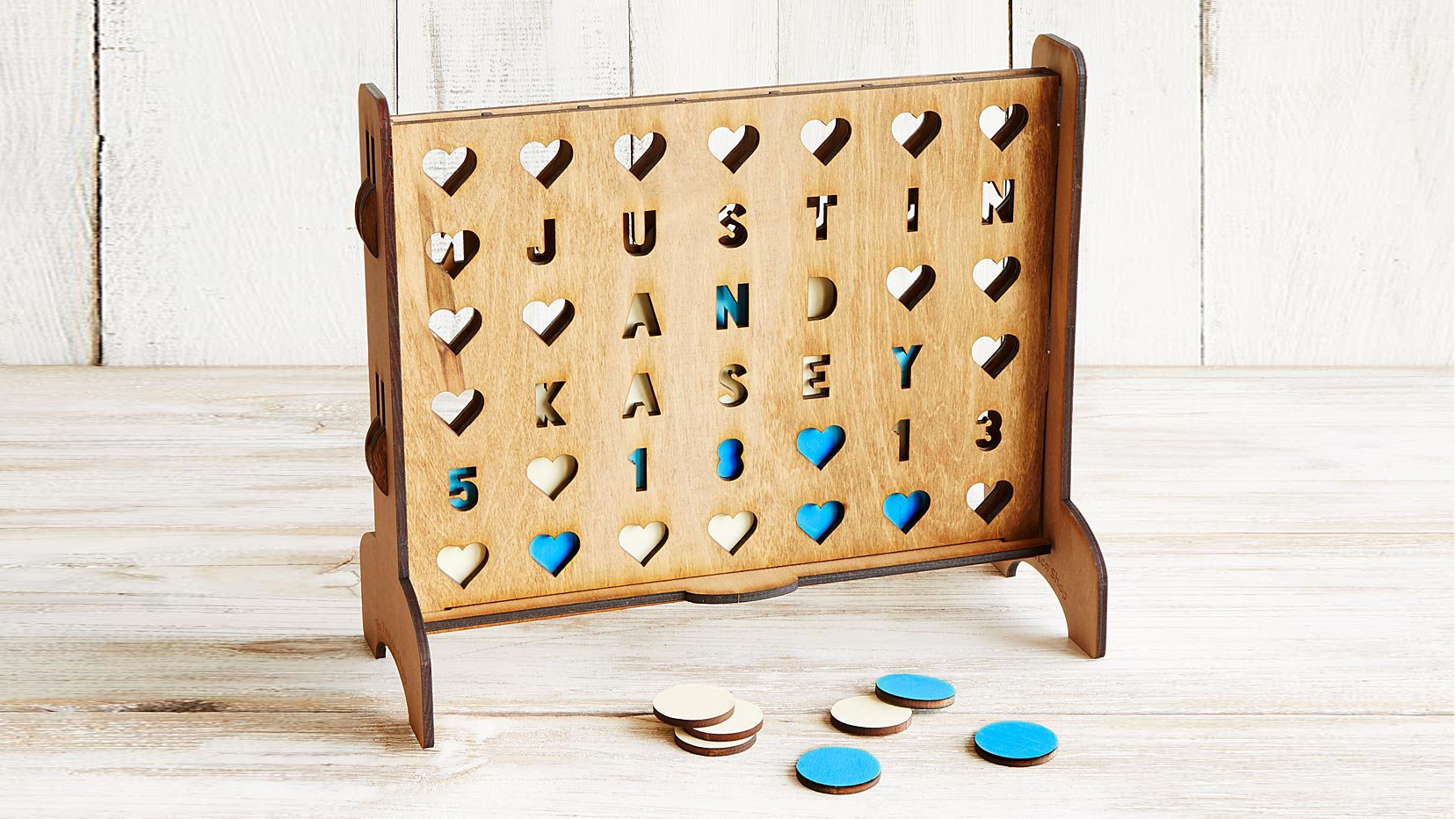 best gifts for couples, customized connect 4 game