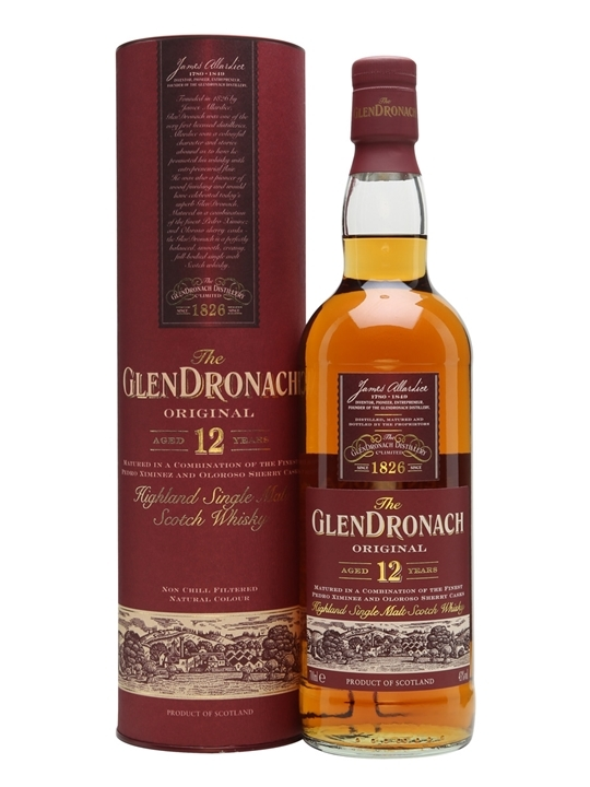gifts-for-foodies-Glendronach-Scotch-Single-Malt