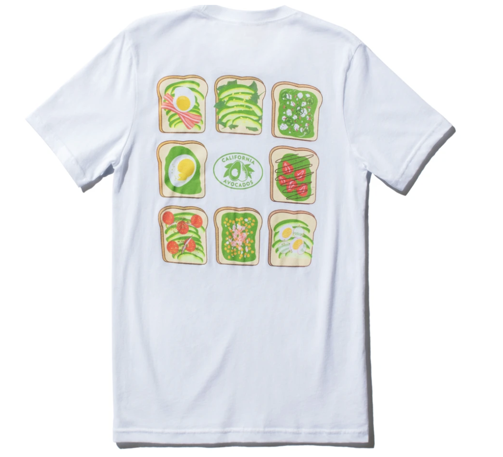 gifts-for-foodies-avocado-toast-t-shirt
