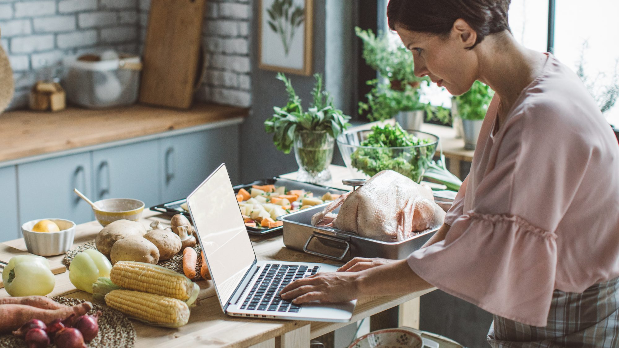 How to cope without family or friends during the holidays 2020 - virtual cook-along