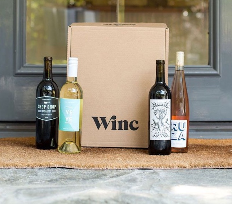 gifts for couples, Winc wine box