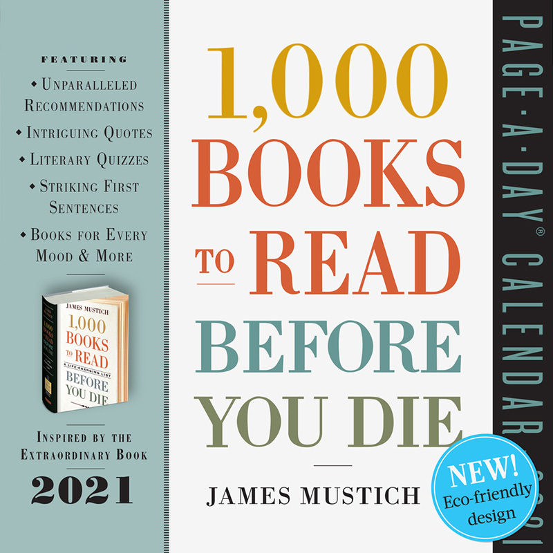 Gifts for Readers: 1,000 Books to Read Before You Die Page-A-Day Calendar