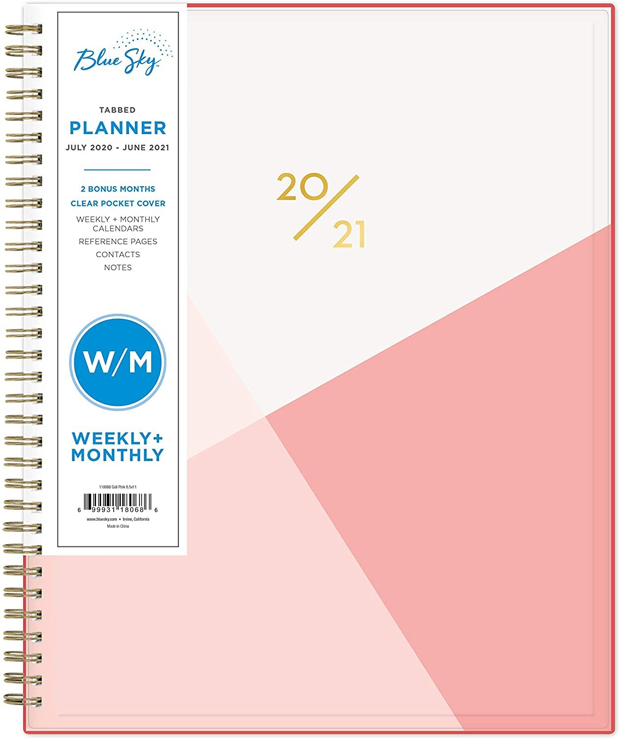 Best gifts for best friend – Blue Sky 2021 Weekly & Monthly Planner