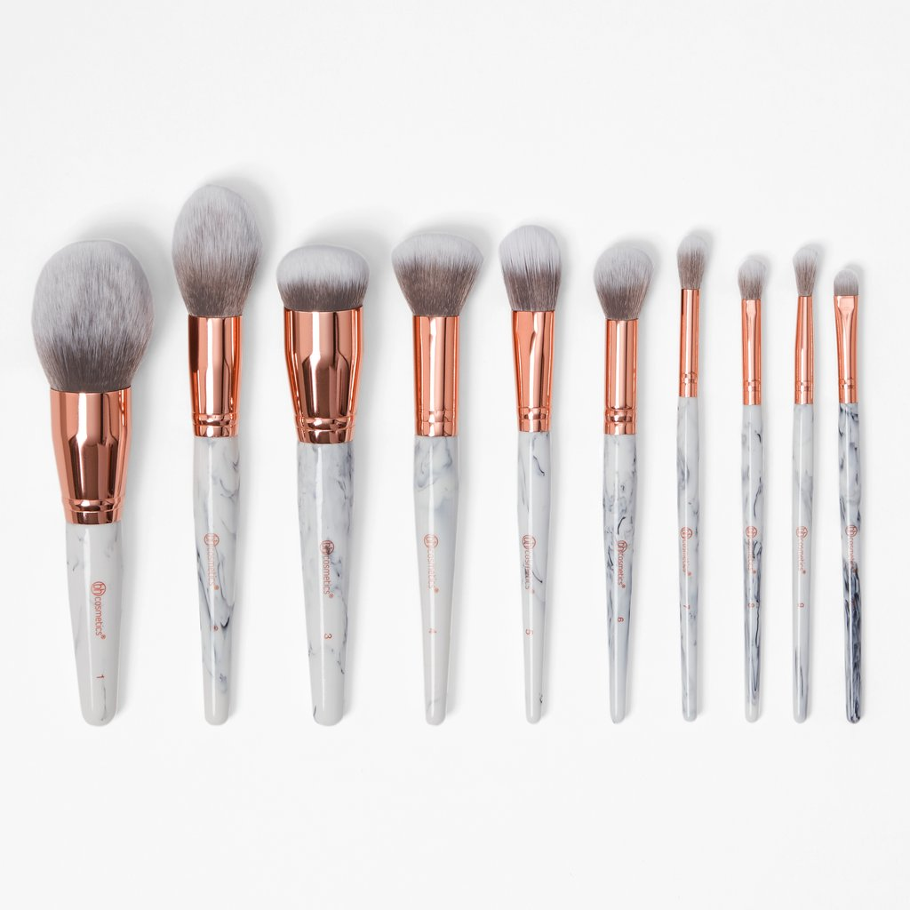 Best gifts for best friend – Marble-Luxe_10_Piece_Brush_Set
