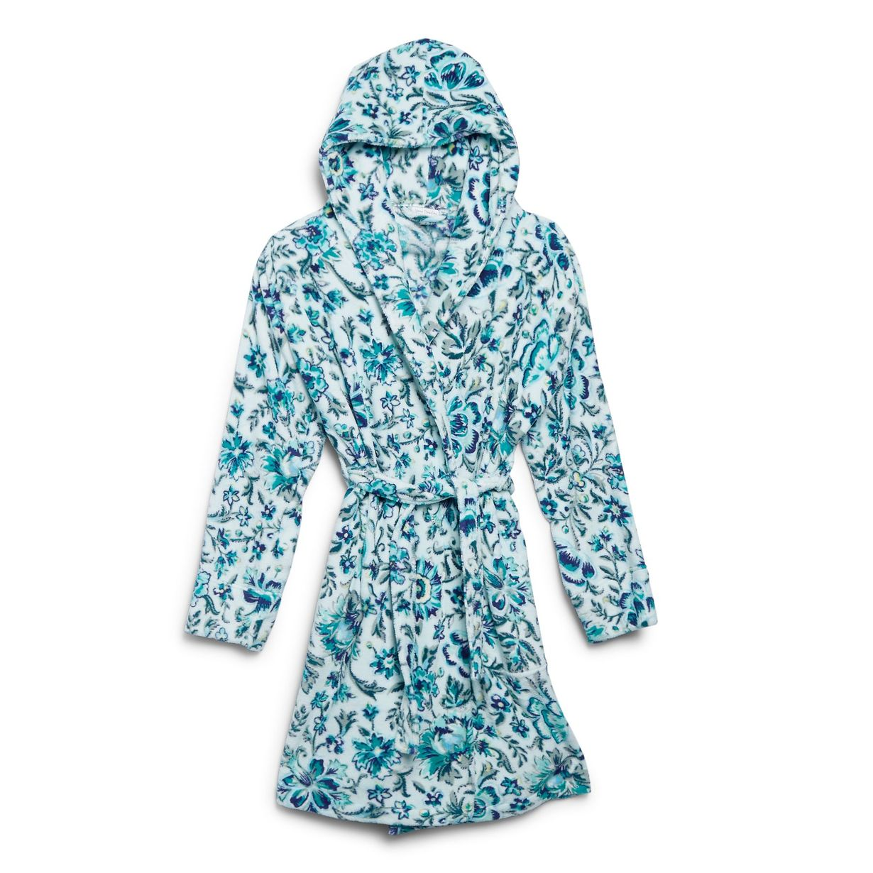 The ideal self-care scenario calls for a ridiculously soft bathrobe (duh), and this one from Vera Bradley certainly fits the bill. The 100 percent polyester fleece is the perfect thickness for cooler temps, and the generously sized hood is great for cozy cocooning.