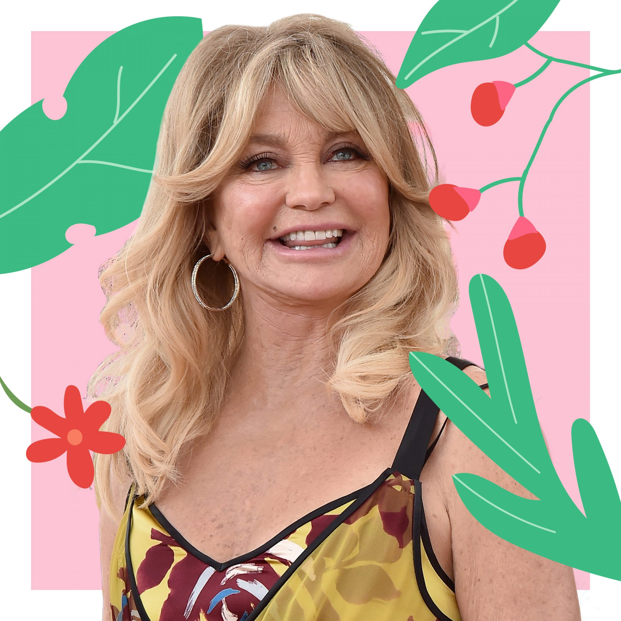 Real Simple Celebrities Who Practice Mindfulness: Goldie Hawn