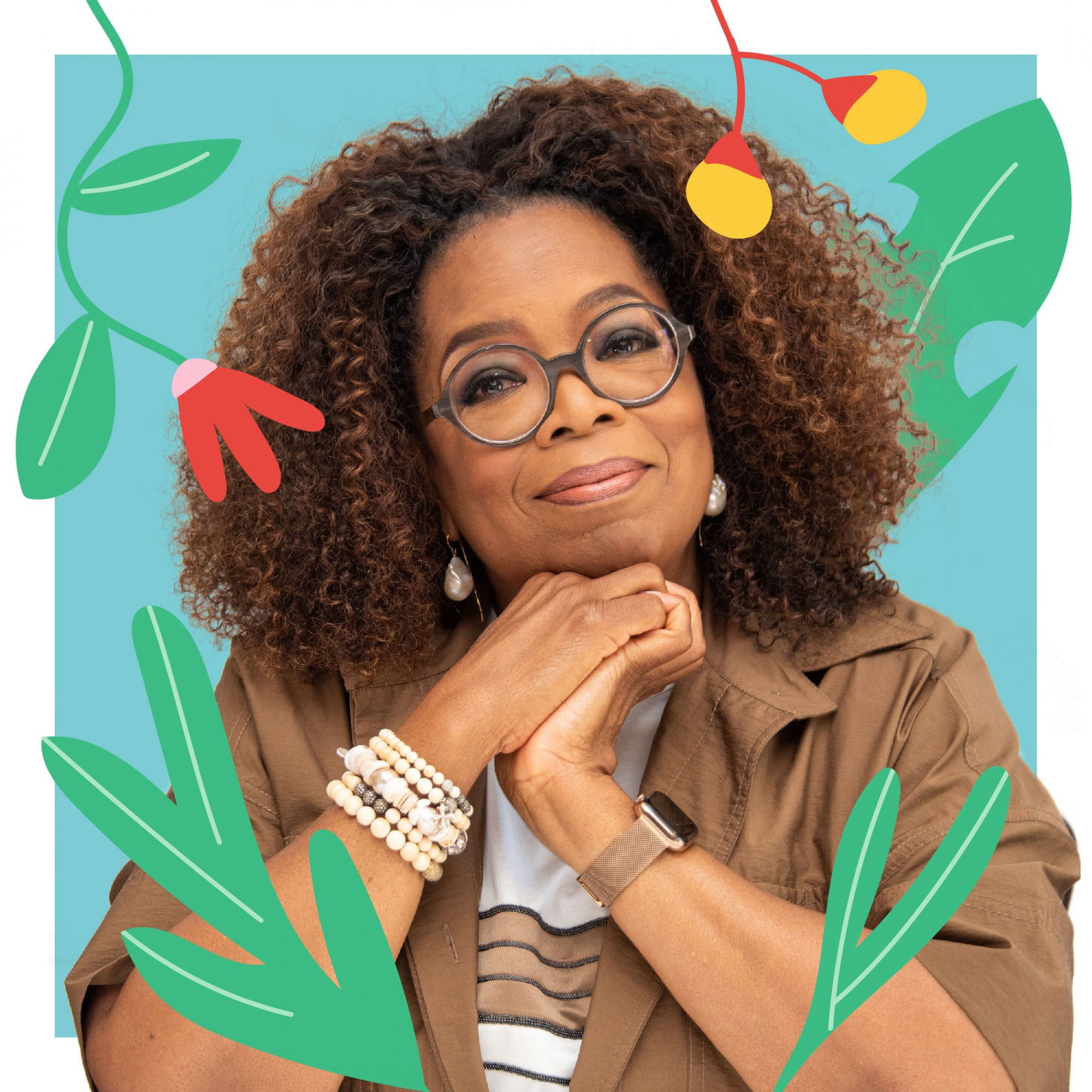 Real Simple Celebrities Who Practice Mindfulness: Oprah