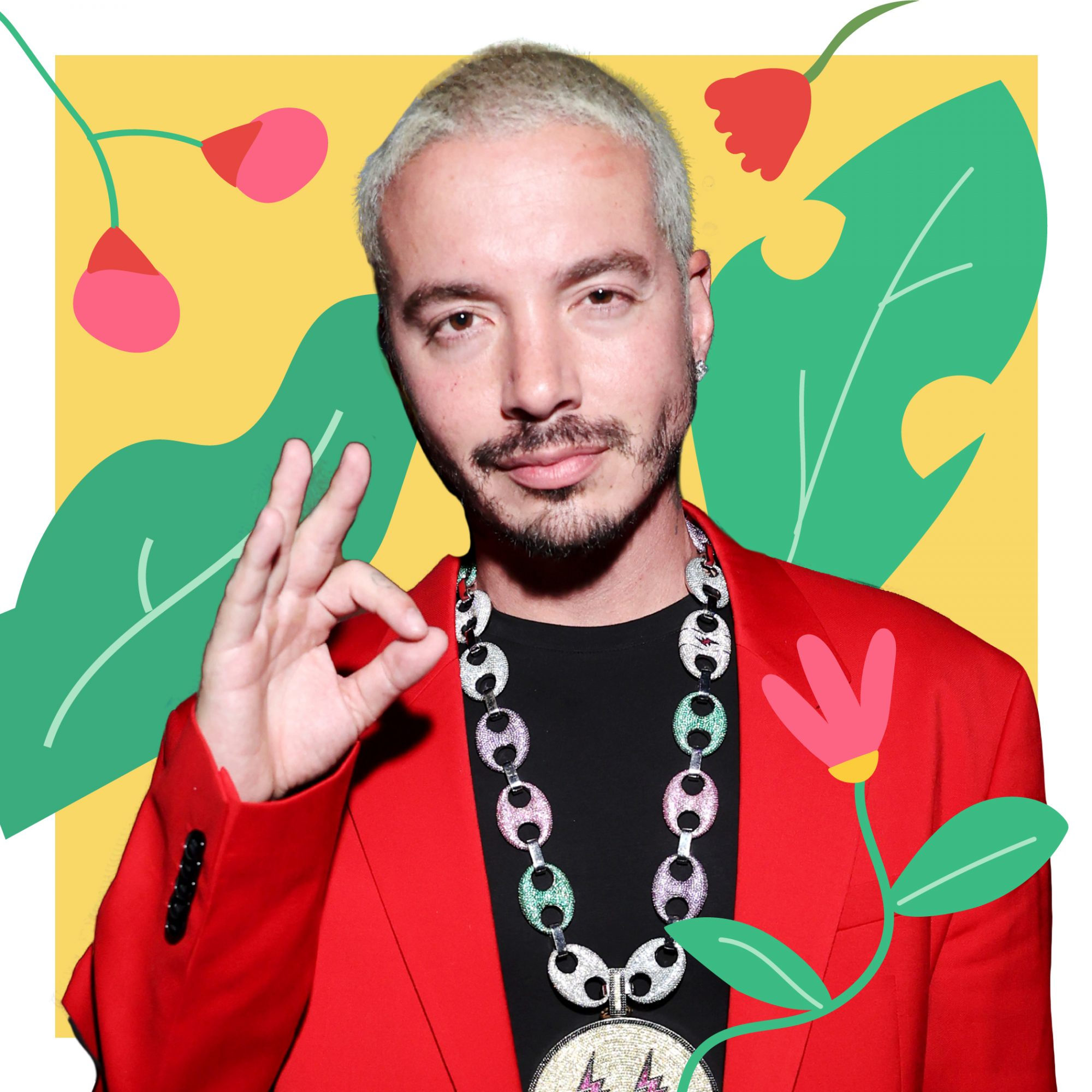 Real Simple Celebrities Who Practice Mindfulness: J Balvin