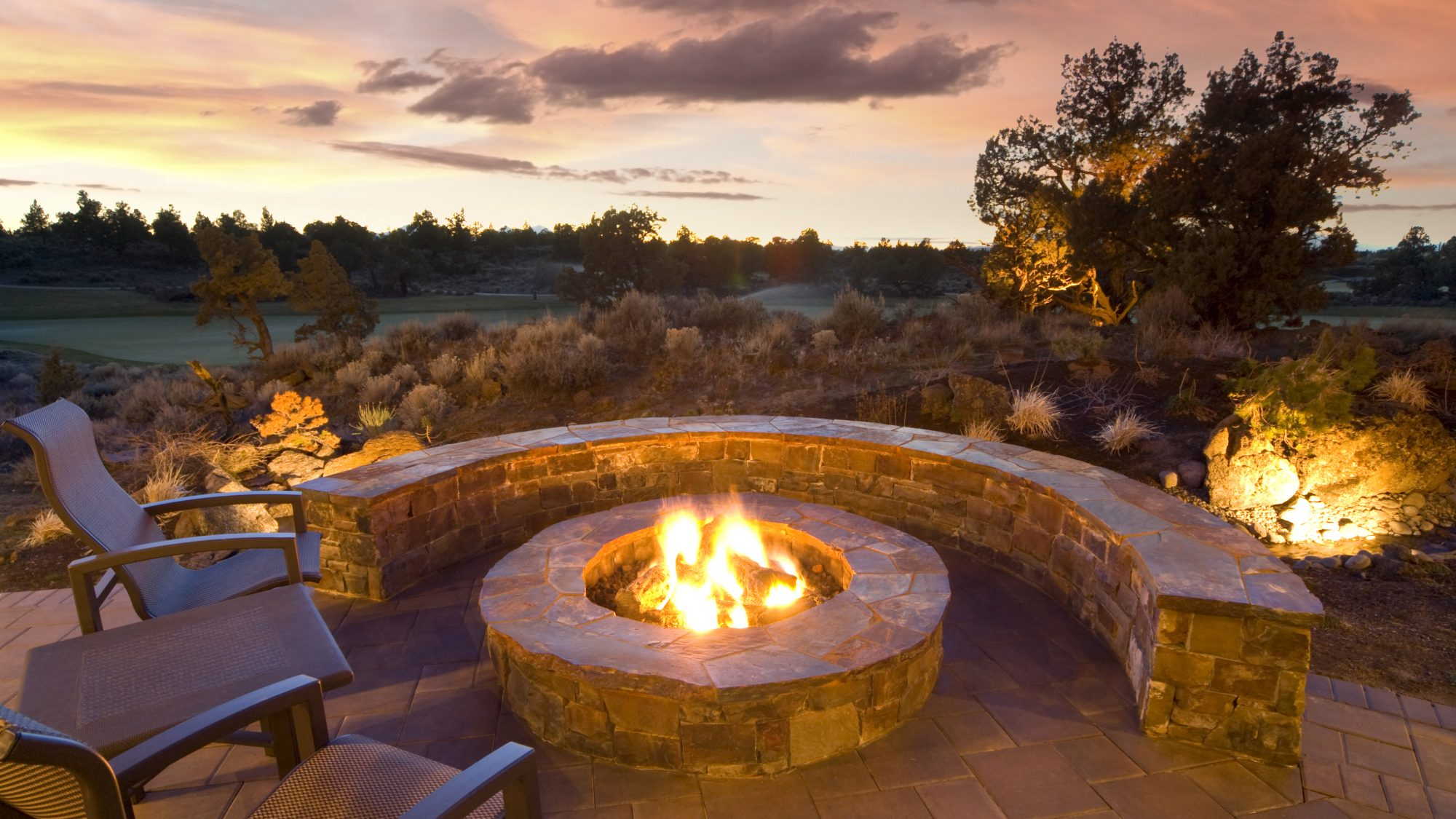 Fire pit safety and space heater safety tips - outdoor fire pit