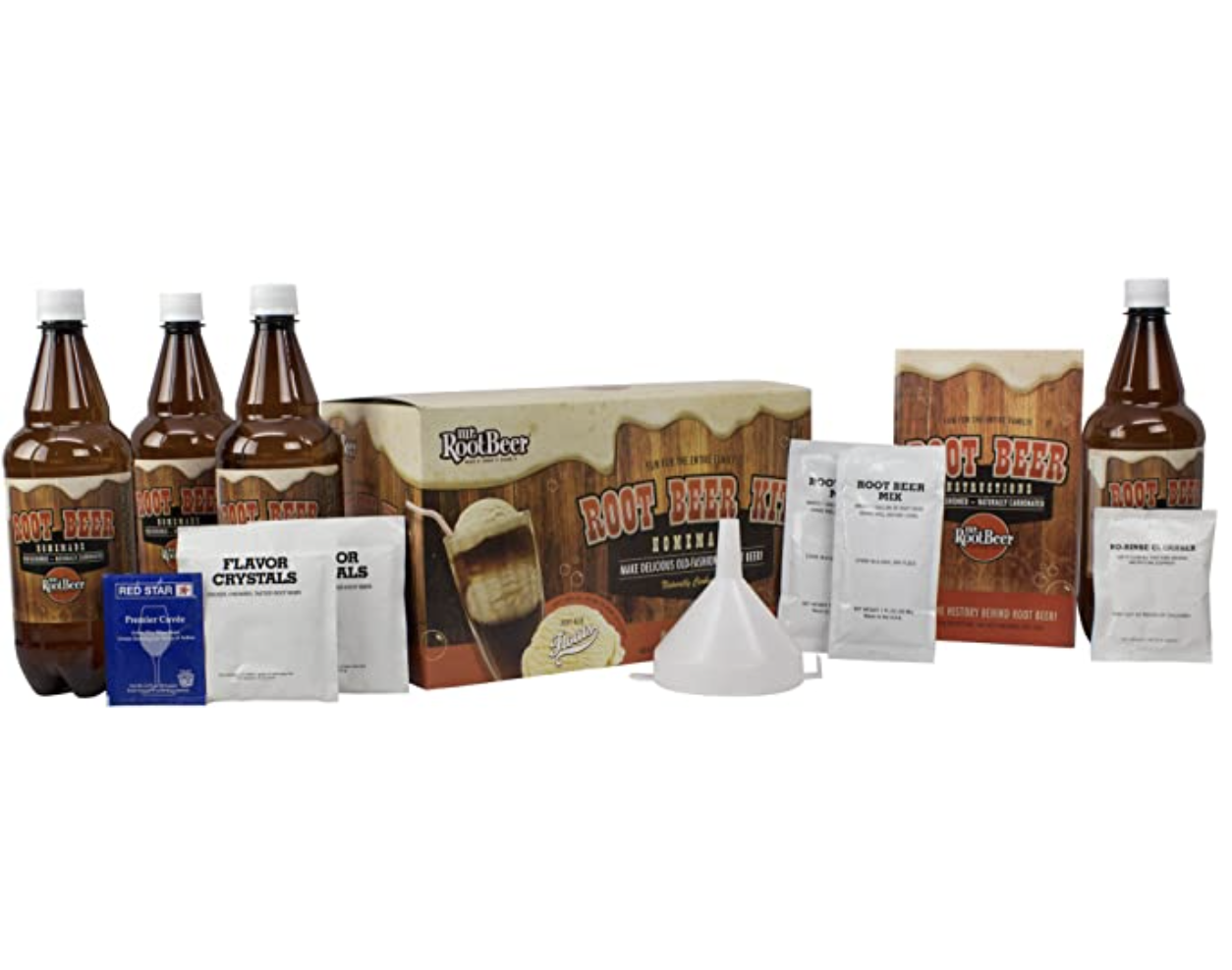 Best gifts for dads – Mr. Root Beer Home Brewing Root Beer Kit