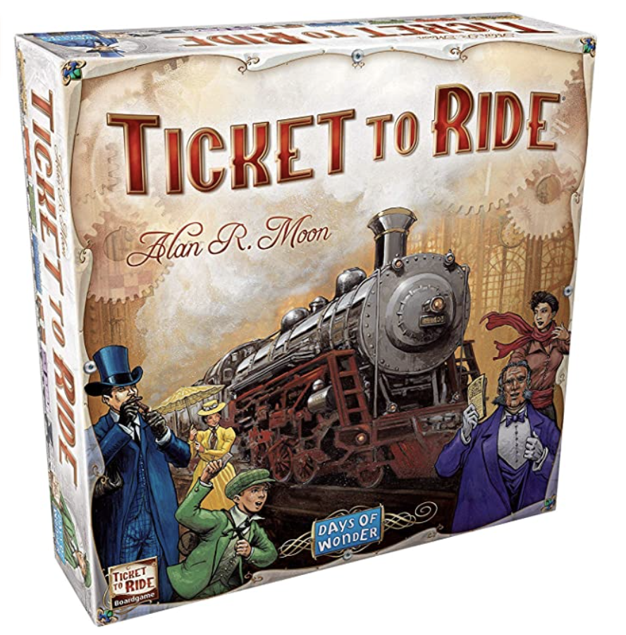 Best gifts for teachers – Ticket To Ride Board Game