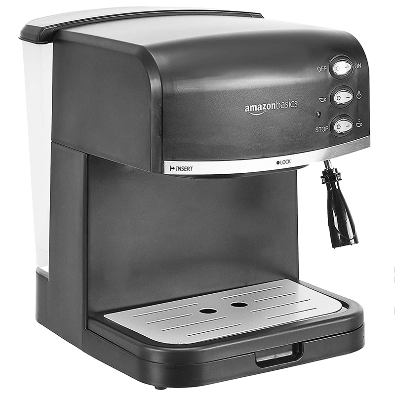 Best Christmas gifts 2020 - AmazonBasics Espresso Machine and Milk Frother