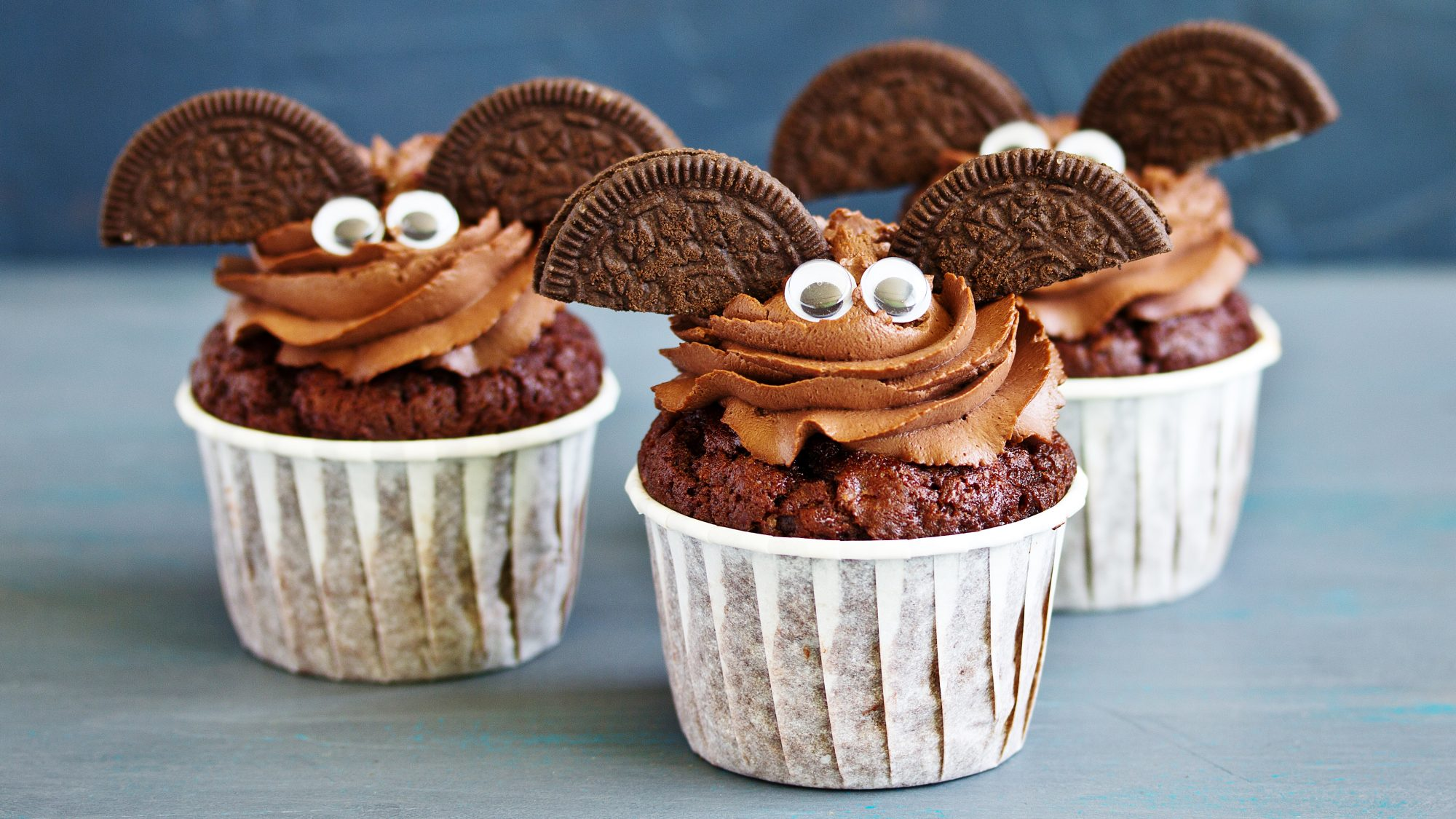 Halloween desserts, cookies, cakes, treats, sweets - Halloween cupcakes (tout)